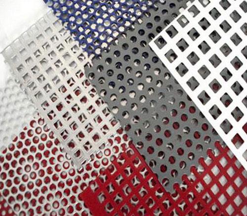 Алюминиевый лист с дырками